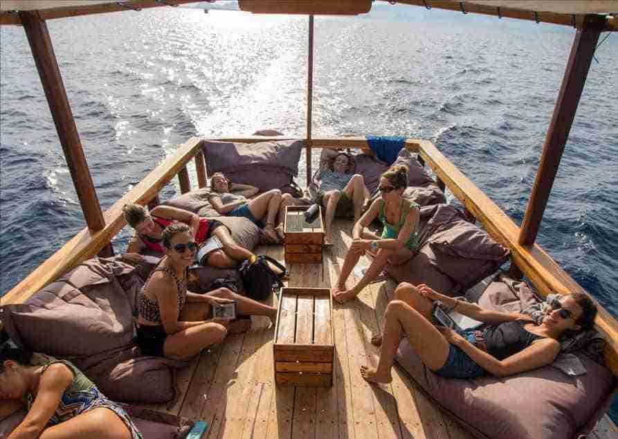 Day Trips Diving | Komodo Diving | Manta Rhei Dive Center Komodo